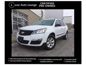 2016 Chevrolet Traverse LS AWD, BLUETOOTH, BACK-UP CAMERA!!!