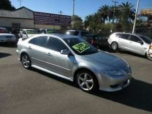 2005 Mazda 6 GG 05 Upgrade Luxury Sports Silver 5 Speed Auto Activematic Hatchback Waratah Newcastle Area Preview
