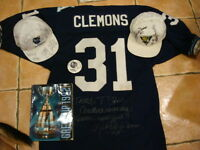 7 pcs'91 GREY CUP CHAMP ARGO COLLECTIBLES/PINBALL SIGNED JERSEY