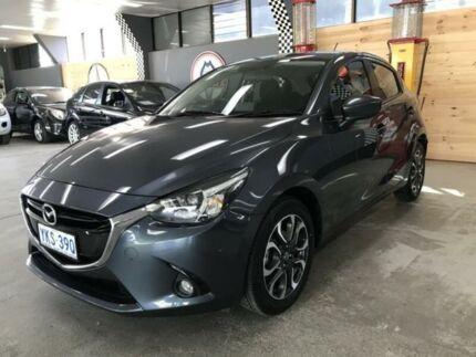 2015 Mazda 2 DJ Genki Grey 6 Speed Automatic Hatchback Fyshwick South Canberra Preview
