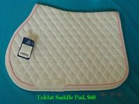 Tokllat Classic III dressage pad and Cavallo Chair