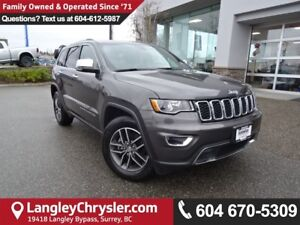2017 Jeep Grand Cherokee Limited ACCIDENT FREE, LEATHER, REAR...
