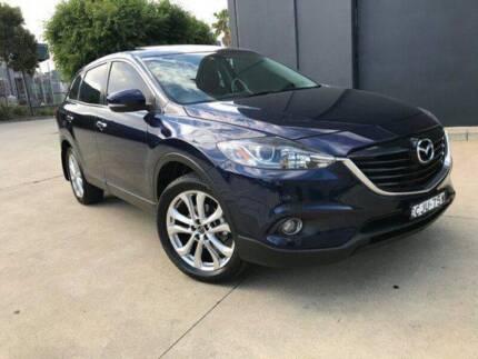 FINANCE FROM $80 PER WEEK* - 2012 MAZDA CX-9 LUXURY FWD AUTO BLUE Parramatta Parramatta Area Preview
