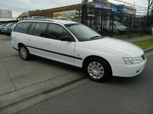 2003 Holden Commodore VY Executive White 4 Speed Automatic Wagon Williamstown North Hobsons Bay Area Preview
