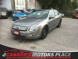 2009 Ford Fusion SEL w/ sunroof, AUTO, 6 DISC CHNGR