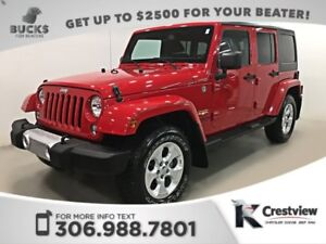 2014 Jeep Wrangler Unlimited Sahara | Heated Seats | Navigation