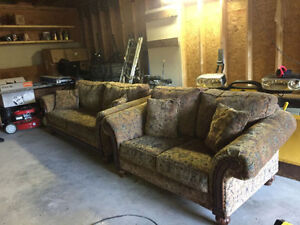 Excellent condition, very clean, no pets - 2 piece sofa set