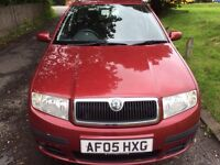 2005 SKODA FABIA 1.2 GOOD CONDITION MOT TILL MARCH 2018 RELIABLE AND ECONOMICAL
