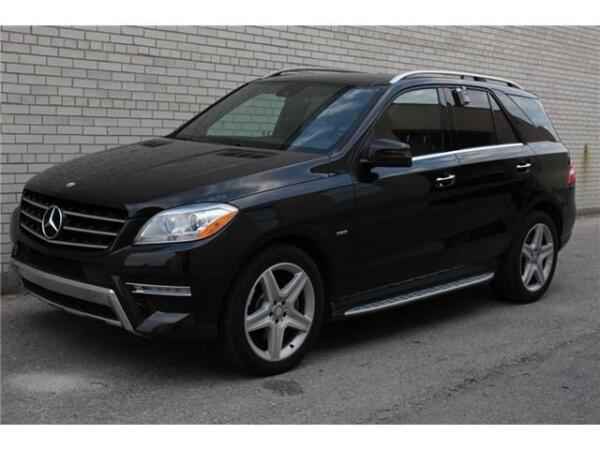 Used 2012 Mercedes-Benz M-Class