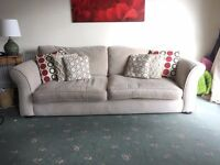 DFS Sofa 3 - 4 Seater with Washable Covers in Good Condition
