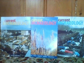 Large number of Current Archaeology magazines in very good/excellent condition EACH