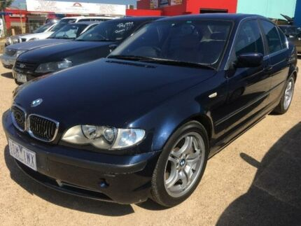 2002 BMW 330I E46 Blue 5 Speed Sports Automatic Sedan Hoppers Crossing Wyndham Area Preview