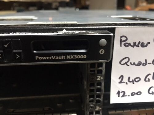 Dell PowerVault NX3000 1x x5620  2.20GHZ 6-CORE, 12GB RAM, NO HDD, H700