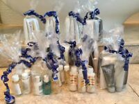 Bulk qty high-end skincare products + accessories: Molton Brown, Orla Kiely, Malin and Goetz etc...