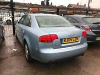 2005 Audi A4 1.8 T AUTOMATIC, LOW MILEAGE, GOOD RUNNER,