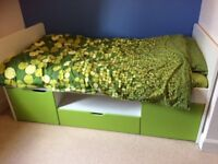 Kids ASPACE southside cabin bed in lime