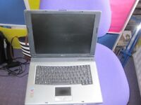 Windows XP Professional Acer Travelmate Laptop with charger.