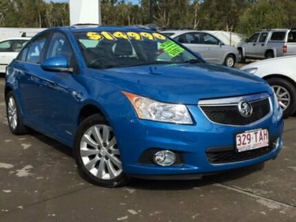 2012 Holden Cruze JH Series II MY13 CDX Blue 6 Speed Sports Automatic Sedan Caloundra Caloundra Area Preview