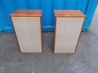 retro vintage goodmans speakers,possible delivery on sunday 07398327756