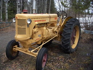 Late 40's Minneapolis Mouline tractor, 90% restored.