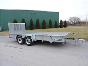 Remorque ST coté haut Galv 7X16 High Side Trailer