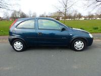2002 02'reg Vauxhall Corsa 1.4i 16v Comfort **Air Con, EW, PAS**