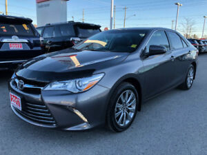 2017 Toyota Camry XLE-ONE OWNER+BOUGHT AND SERVICED HERE!