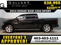 2014 DODGE RAM SPORT CREW *EVERYONE APPROVED* $0 DOWN $249/BW