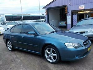 2006 Subaru Liberty B4 MY06 2.0R AWD Blue 5 Speed Manual Sedan North St Marys Penrith Area Preview