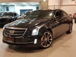 2015 Cadillac ATS Coupe 2.0L TURBO LUXURY-AWD-CAMERA-ONLY 72KM