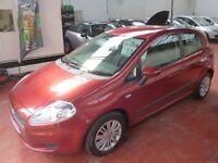 FIAT GRANDE PUNTO DYNAMIC 8V (red) 2006
