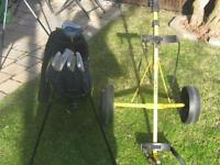 golf bag & pull cart