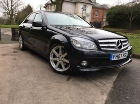 MERCEDES BENZ C220 2.2 CDI AMG SPORT 2007 FACELIFT EXTRAS ** CHEAPEST IN THE UK **