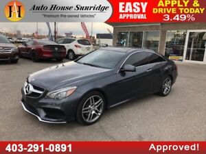 2015 MERCEDES E400 4MATIC AWD COUPE NAVIGATION BACKUP CAMERA
