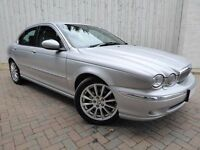 Jaguar X-Type 2.5 V6 SE Automatic, Full Leather, Metallic Silver, Absolutely Superb Condition
