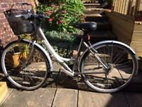 """LADIES APOLLO CYCLE. Lightwieght, 26"""" wheels and 19"""" frame. Shimano gears, Very clean example."""