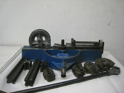 Lakeland Model 624 Manual Crank Tubing Bender Parker Hannifin W Dies