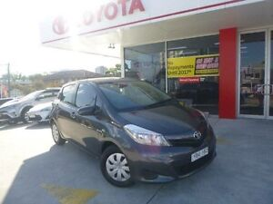 2012 Toyota Yaris NCP130R YR Graphite 4 Speed Automatic Hatchback Allawah Kogarah Area Preview