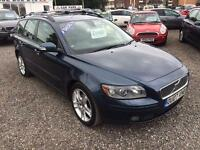 2007 VOLVO V50 2.0D SE [Euro 4] DIESEL ESTATE FULL LEATHER INTERIOR