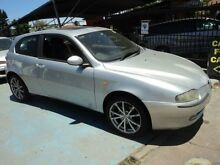 2003 Alfa Romeo 147 TI Silver 5 Speed Manual Hatchback Burwood Burwood Area Preview