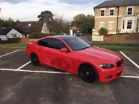 Fully loaded 320d m sport very rare colour