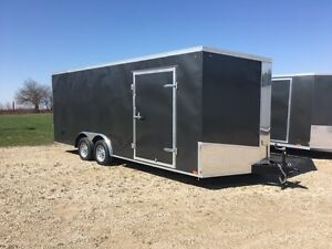 102 x 20 Tandem 3500 Rear ramp Door Trailer