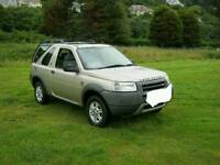 Landrover Freelander 2001 1.8 Petrol / LPG Converted BARGAIN! OR SWAP