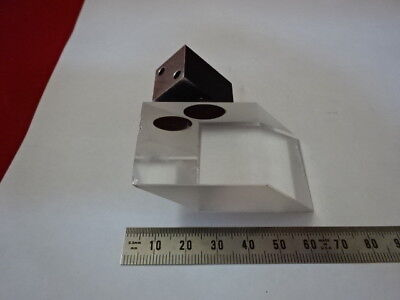 Zeiss Axiotron Germany Mounted Glass Prism Microscope Part As Pictured 90-b-23