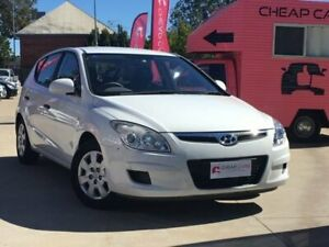 2009 Hyundai i30 FD MY09 SX White 4 Speed Automatic Hatchback South Toowoomba Toowoomba City Preview