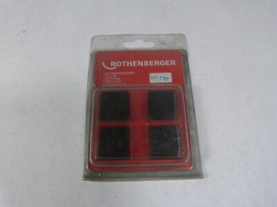Rothenberger 1 12inch Npt Set Of 4 Dies New