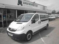 Vauxhall Vivaro 2.0Cdti [115Ps] Combi 2.9T Euro 5 DIESEL MANUAL WHITE (2014)