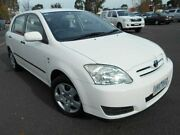 2006 Toyota Corolla ZZE122R MY06 Upgrade Ascent Seca White 4 Speed Automatic Hatchback Maidstone Maribyrnong Area Preview