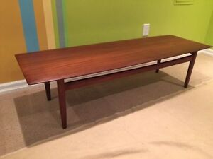 Mid century solid teak coffee table by Imperial furniture