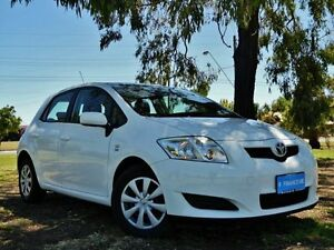 2009 Toyota Corolla ZRE152R Ascent White 6 Speed Manual Hatchback Hendon Charles Sturt Area Preview